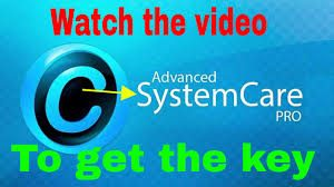 Advanced SystemCare 10.1 PRO Serial Key 2017