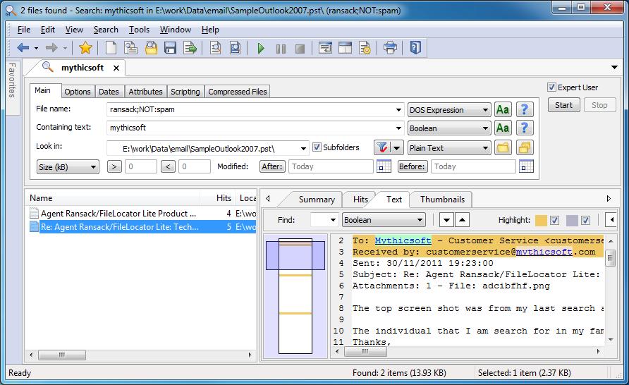 Mythicsoft FileLocator Pro 8 Crack & Keygen Free