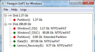 Paragon ExtFS v4.2.651 Serial Key Full Crack for Windows Free Download