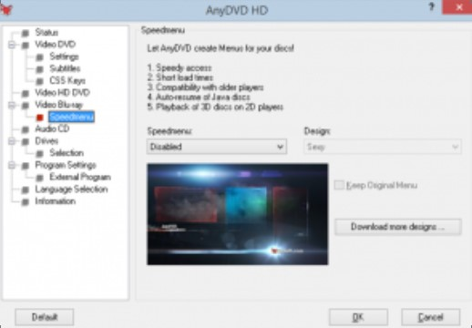 AnyDVD HD 8.4.8.2 Crack + Feature Key Free Download